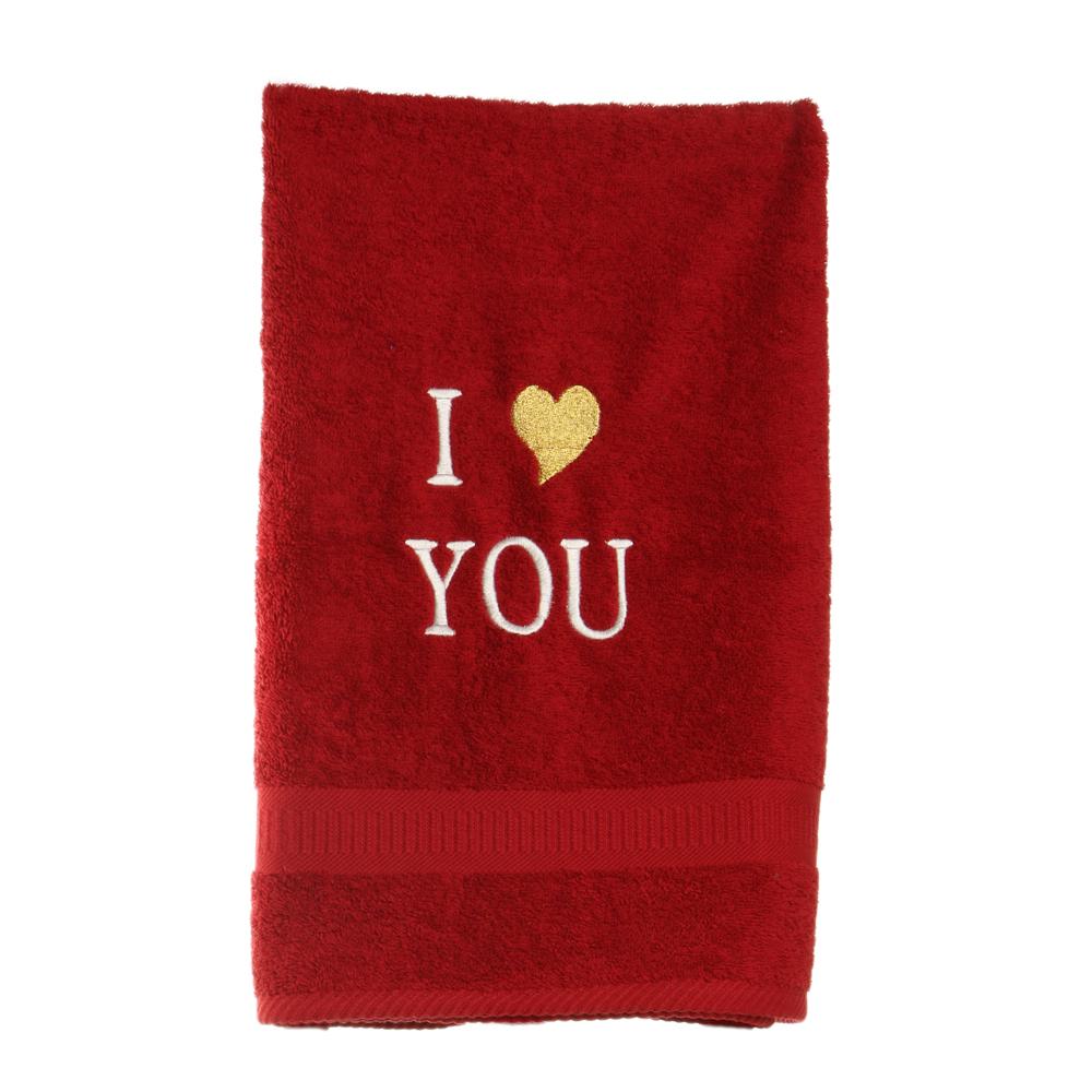 מגבת I love you